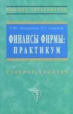 Финансы фирмы Практикум Учебное пособие