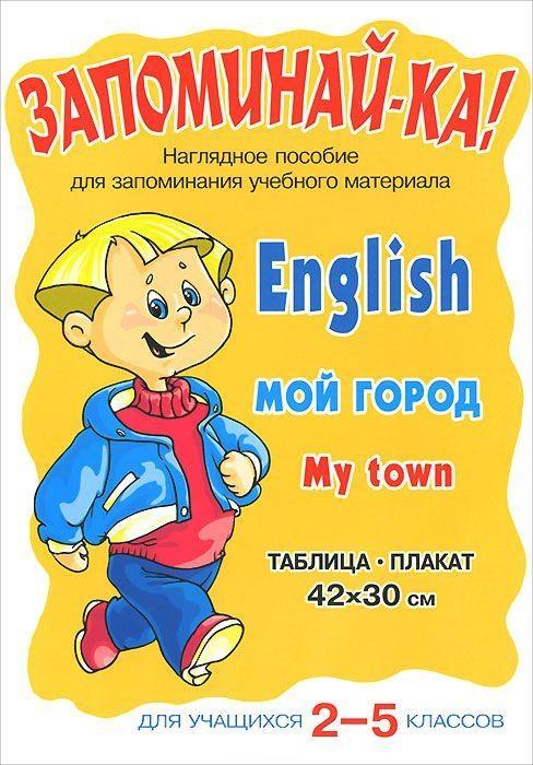 Запоминай-ка Английский Мой город 2-5 кл запоминай ка русский язык морфологический разбор 3 5 кл