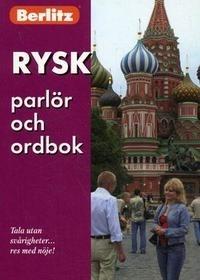 Rusk parlor och ordbok Русский разговорник и словарь для говорящ по-швед