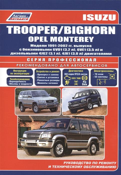 Isuzu Trooper Bighorn Opel Monterey 1991-2002 с бенз двиг стоимость