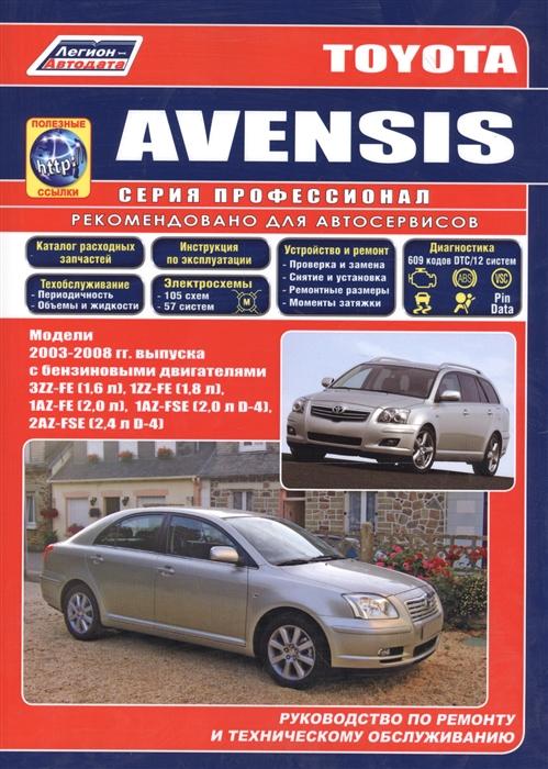 Toyota Avensis 2003-2008 с бенз двиг