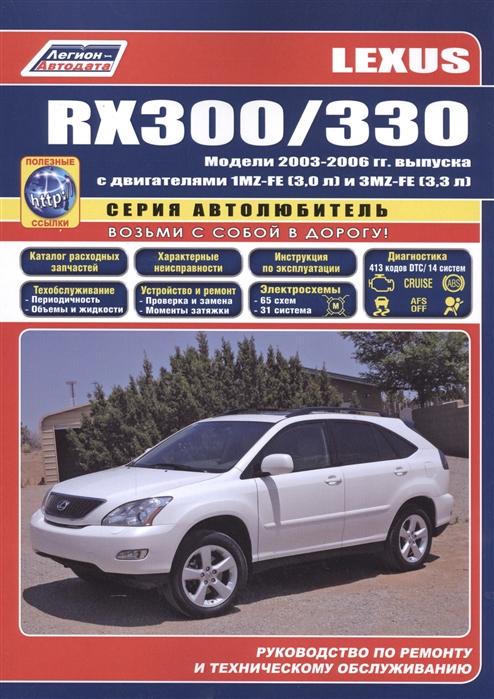 Lexus RX300 RX330 Модели с 2003 гг вып
