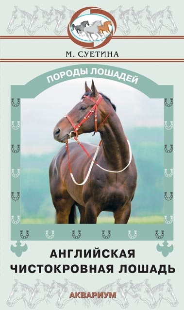 Суетина М. Английская чистокровная лошадь our generation лошадь породы американская чистокровная с аксессуарами