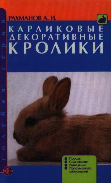 Рахманов А. Карликовые декоративные кролики Породы Содержание цена и фото