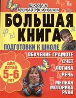 Большая книга подготовки к школе Для детей 5-6 л.