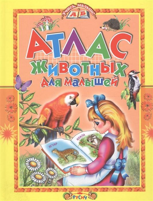 Купить Атлас животных для малышей, Русич, Первые энциклопедии для малышей (0-6 л.)