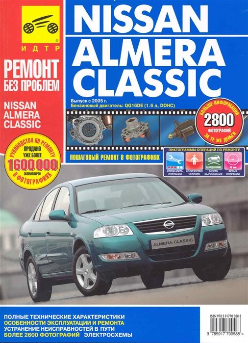 цены на Капустин А., Горлин П., Горфин И. Nissan Almera Classic с 2005г в фото  в интернет-магазинах