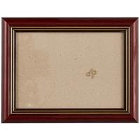 Рама 13*18 деревянная, цвет коричневый, со стеклом, Двуреченский