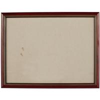 Рама 30*40 пластиковая, цв. коричневый, со стеклом, Двуреченский