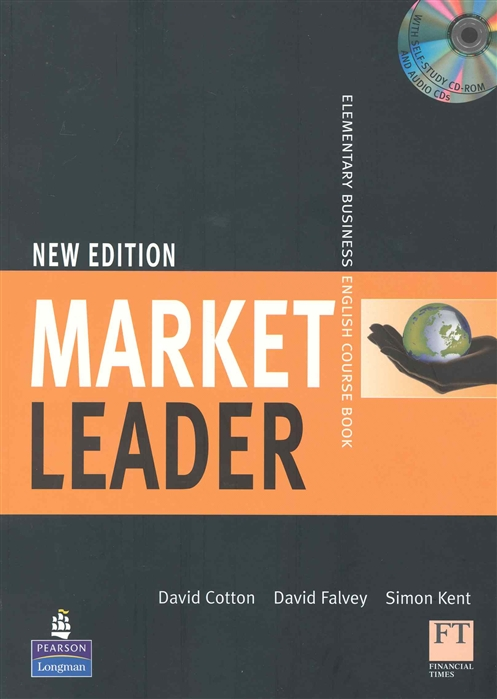 Cotton D., Falvey D., Kent S. Market Leader New Edition Elementary Course Book market leader elementary business english coursebook dvd rom