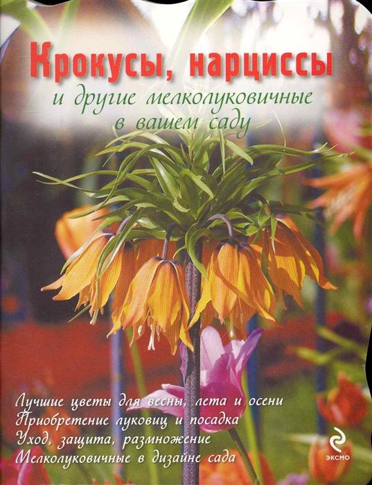 Крокусы нарциссы и другие мелколуковичные цветы в вашем саду мягк Цветы в саду и на окне вырубка Попова Ю Эксмо