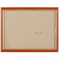 Рама 18*24 деревянная, цв. коричневый с золотом, со стеклом, Двуреченский