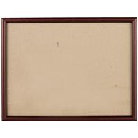 Рама 30*40 деревянная, цв. коричневый темный, со стеклом, Двуреченский