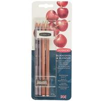Набор художественный (2 карандаша для блендинга, 2 карандаша для полировки, ластик, точилка) блист., DERWENT