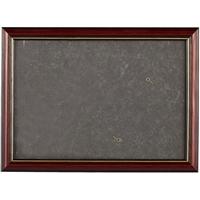 Рама 21*30 деревянная, цв. коричневый с золотом, лак, со стеклом, Двуреченский