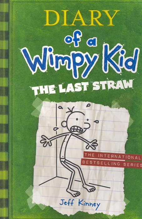 Kinney J. Diary of a Wimpy Kid The Last Straw недорого