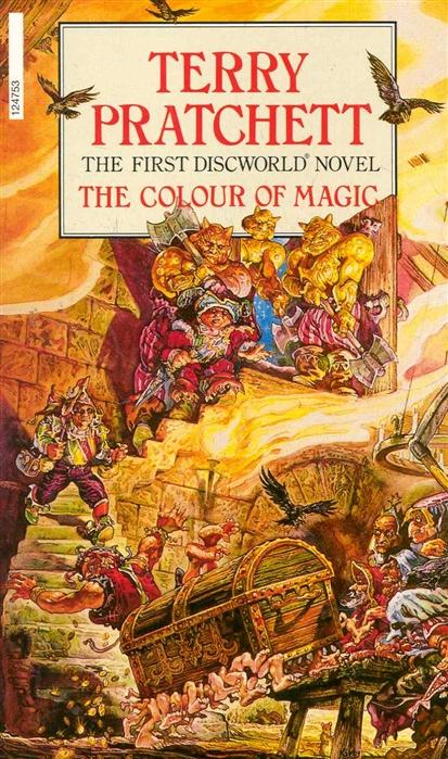 Pratchett T. The Colour of Magic pratchett t good omens