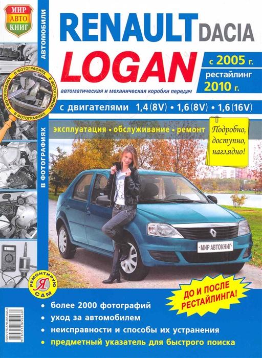 Автомобили Renault Dacia Logan