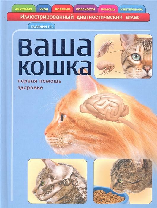 цены Галанин Г. Ваша кошка Илл диагностический атлас