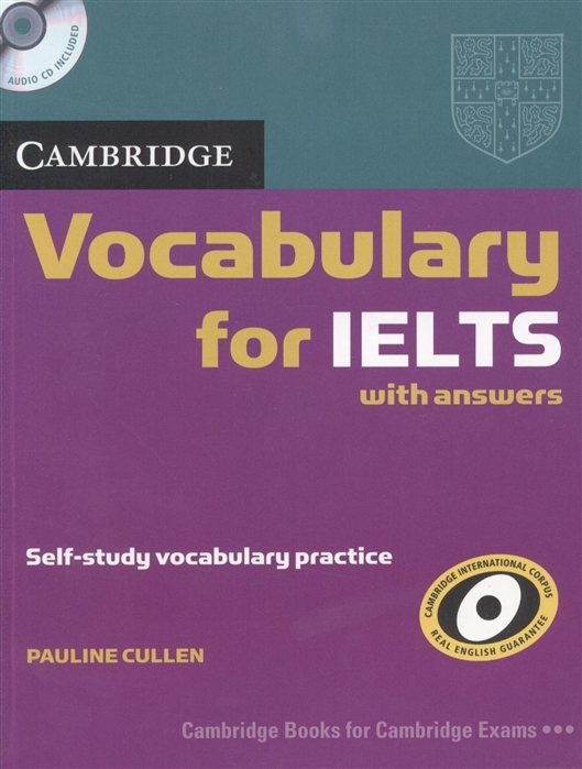 Фото - Cullen P. Cambridge Vocabulary for IELTS with answers CD complete ielts bands 5 6 5 sb without answers