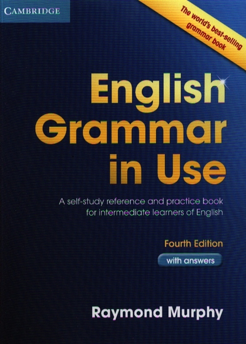 Murphy R. English Grammar in Use with answers Fourth Edition murphy r english grammar in use 3rd edition classware for intermediate students of english dvd rom
