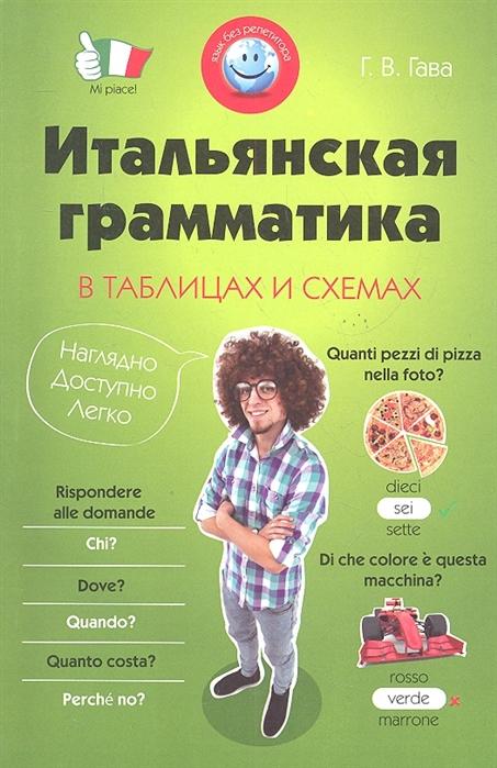 Гава Г. Итальянская грамматика в таблицах и схемах мущинская в украинская грамматика в таблицах и схемах