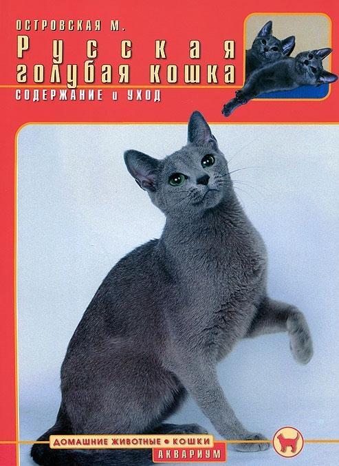 Островская М. Русская голубая кошка Содержание и уход