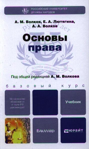 Основы права Учебник для бакалавров