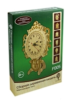 Сборная деревянная модель F005 Маятниковые часы (4/20) (6+) (Чернусь)