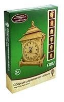 Сборная деревянная модель F002 Настольные часы (4/20) (6+) (Чернусь)