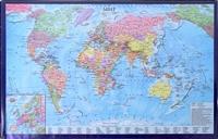 """Подкладка для письма """"Карта мира"""", А2"""