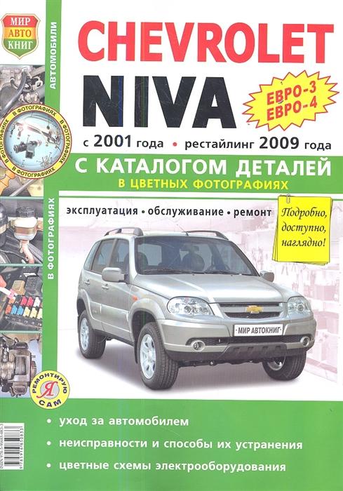 Chevrolet Niva Евро-3 Евро-4 Евро-3 Евро-4 Евро-5 с 2001 года рестайлинг 2009 года каталог запасных частей фото