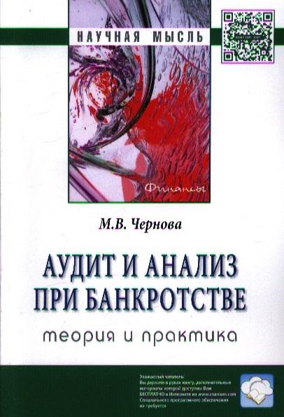 Аудит и анализ при банкротстве теория и практика Монография
