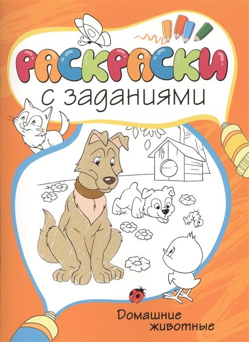Купить Домашние животные, Азбука-Аттикус, Раскраски