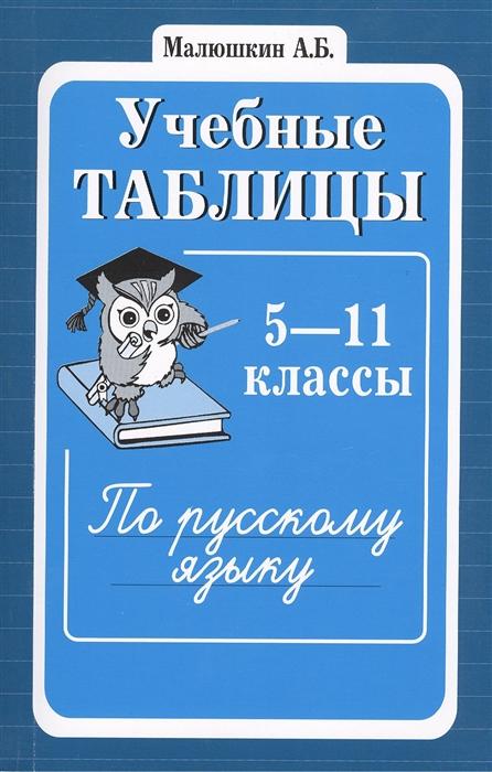 Учебные таблицы по русскому языку 5-11 классы Второе издание