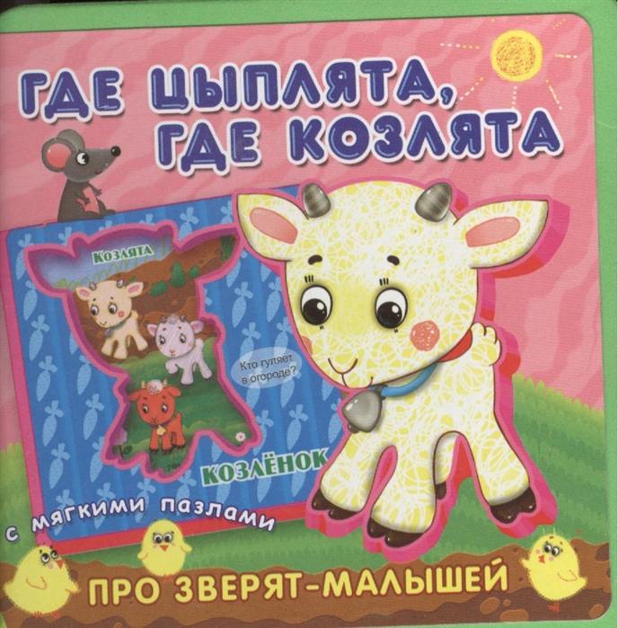 Медведева А. (худ.) Где цыплята где козлята