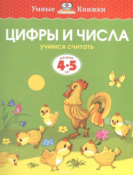 Земцова О. Цифры и числа Учимся считать Для детей 4-5 лет учимся считать комплект из 4 карт для развития и обучения детей 5 8 лет