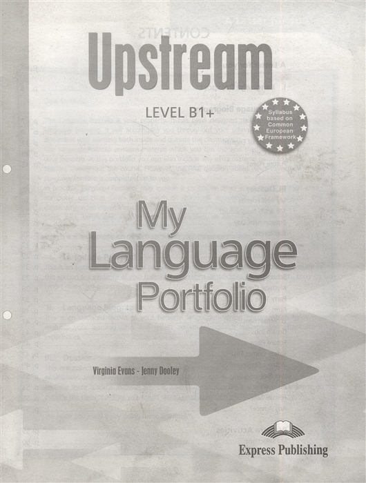 Upstream Level B1 My Language Portfolio