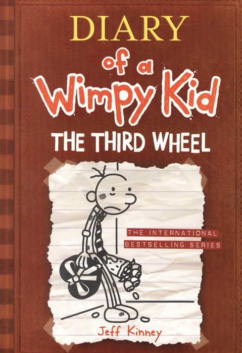 Kinney J. Diary of a Wimpy Kid 07 The Third Wheel недорого