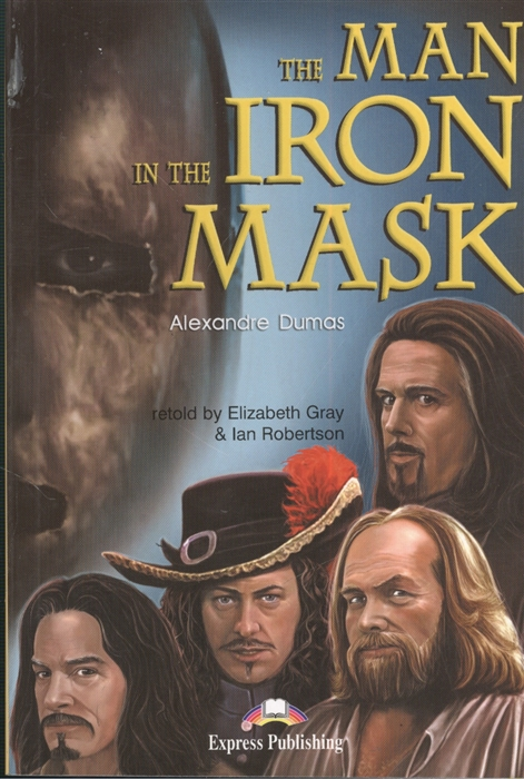 The Man in the Iron Mask Книга для чтения