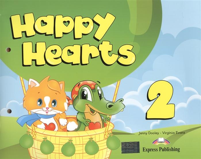 Dooley J., Evans V. Happy Hearts 2 Учебник для детей 5-6 лет Комплект с вкладышем