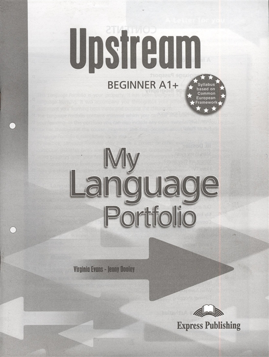 Evans V., Dooley J. Upstream Beginner A My Language Portfolio цена в Москве и Питере