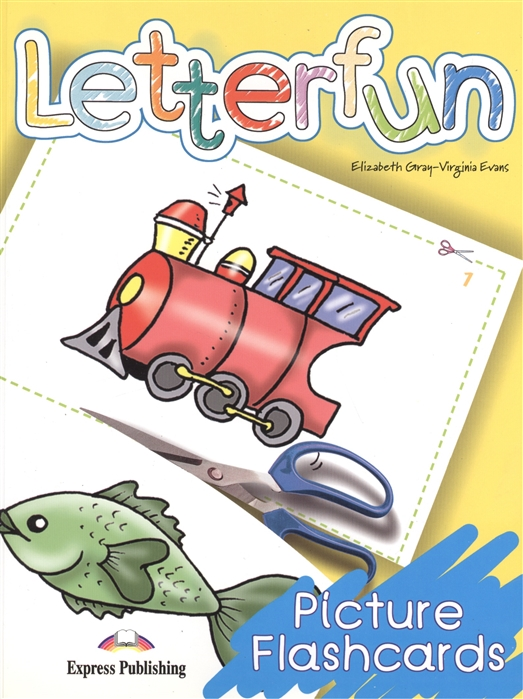 Gray E., Evans V. Letterfun Picture Flashcards 123 flashcards