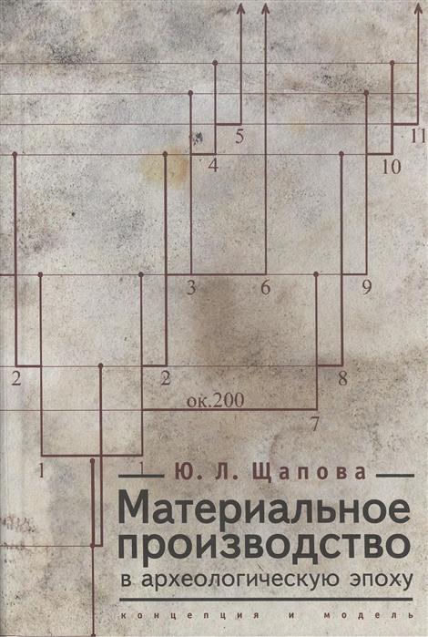 Материальное производство в археологическую эпоху Концепция и модель