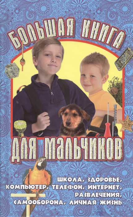 Купить Большая книга для мальчиков, Букмастер, Внешность. Этикет. Дружба. Любовь