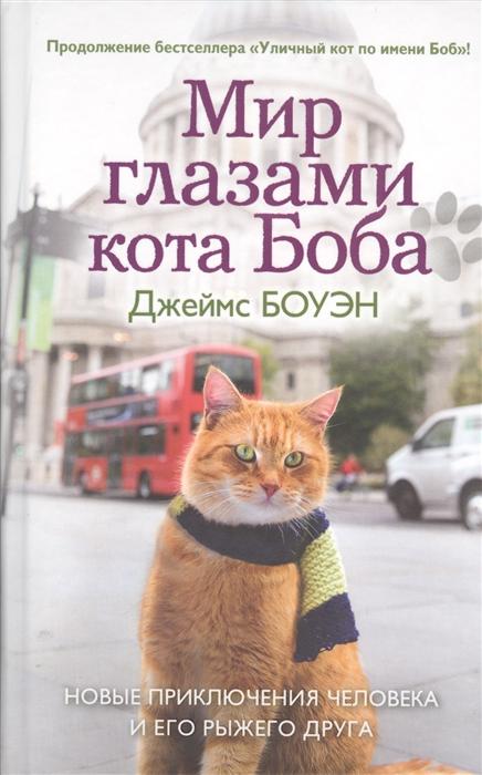 Боуэн Дж. Мир глазами кота Боба боуэн дж мир глазами кота боба новые приключения человека и его рыжего друга