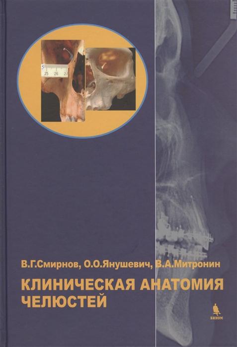 Смирнов В., Янушевич О., Митронин А. Клиническая анатомия челюстей а смирнов в прилагаемых обстоятельствах