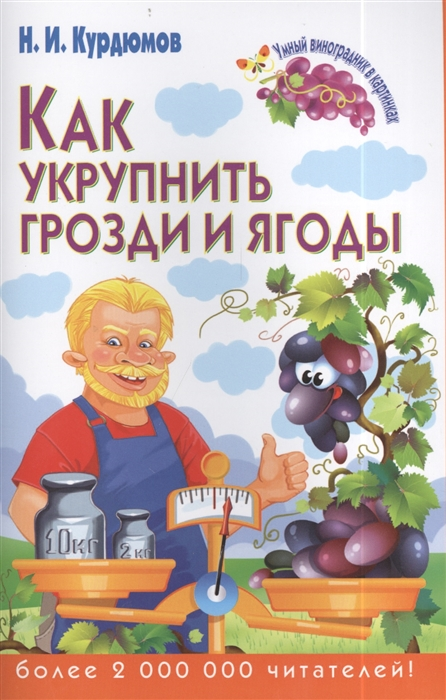 Курдюмов Н. Как укрупнить грозди и ягоды н и курдюмов как помочь винограду не болеть