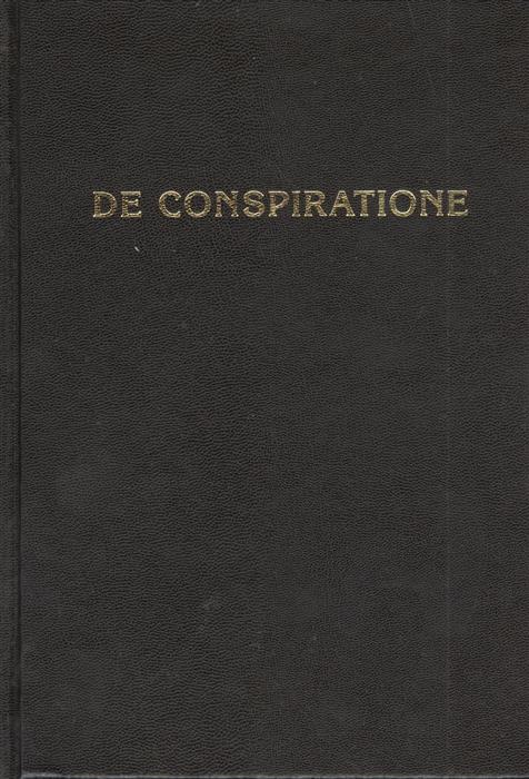 De Conspiratione О Заговоре Сборник монографий