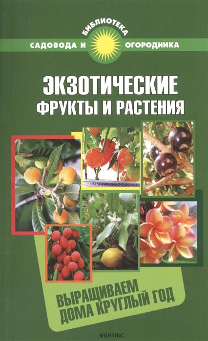 Экзотические фрукты и растения Выращиваем дома круглый год